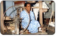 Photograph of the Handloom Textile Weaving Centre